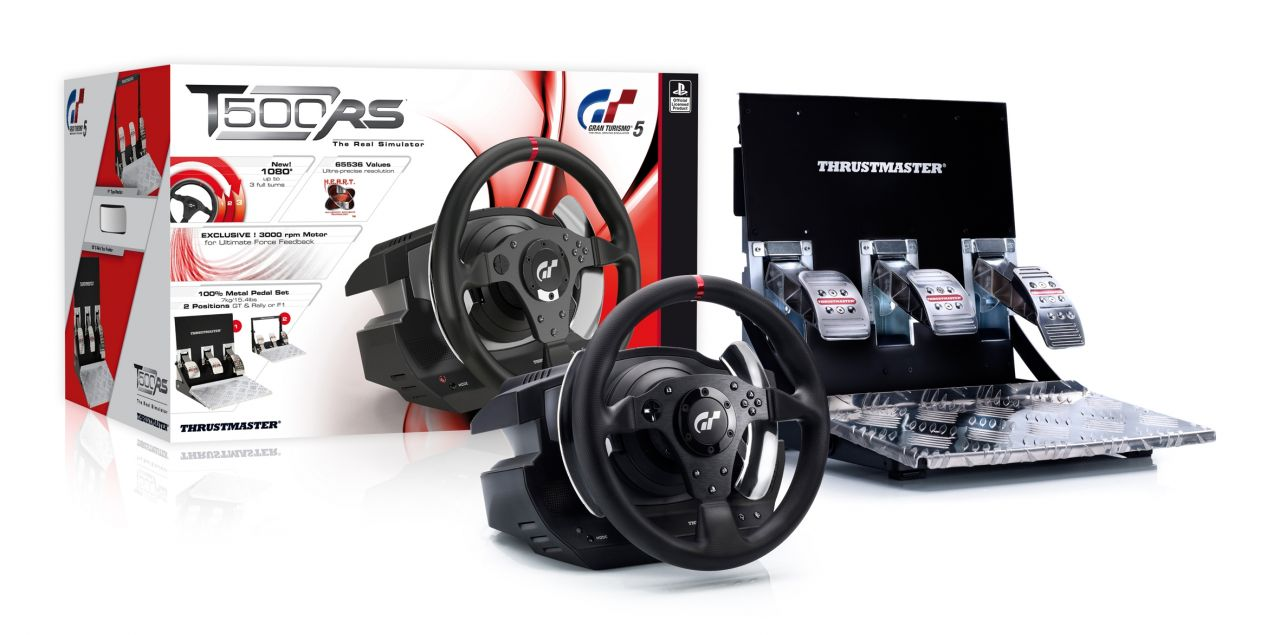 Review Thrustmaster T500rs